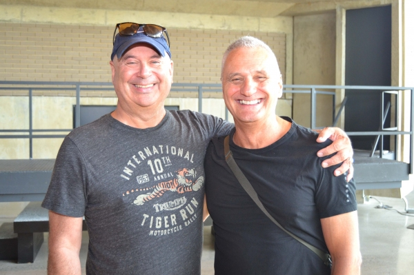 Designer Ken MacDonald and Playwright/Director Morris Panych  Photo
