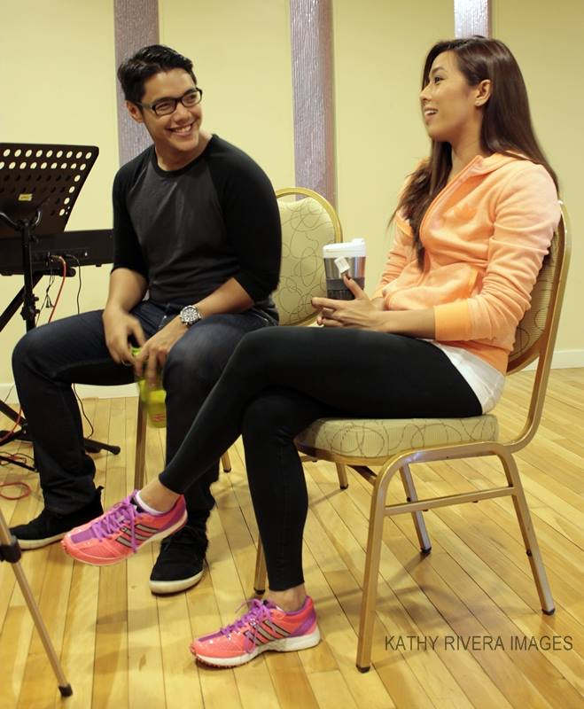 Exclusive: Nikki Gil, Joaquin Valdes Chat THE LAST FIVE YEARS