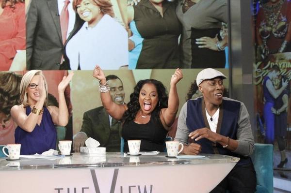 Photo Flash: First Look - Sherri Shepherd Bids Farewell to THE VIEW; Final Show Airs 8/11