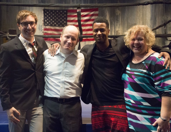 Brett Nevue, Guy Van Swearingen, Kamal Angelo Bolden and Karen Kessler  Photo