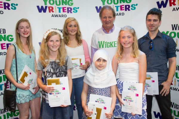 Winners: Freya Carter, Susanna Tredinnick, Rhian Hutchings, Liya Khan, Michael Morpurgo, Caitlin Wilkins and Chris Pritchard.