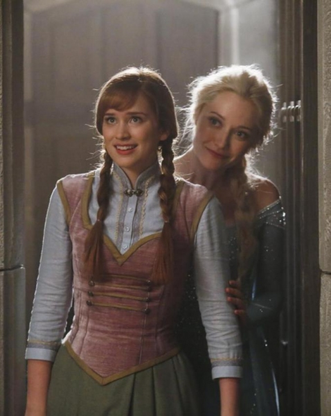 Photos: First Look at Elizabeth Lail as FROZEN's Anna in ONCE UPON A TIME