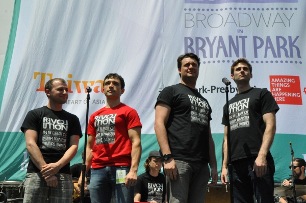 Photo Coverage: Casts of JERSEY BOYS, CABARET and More Visit BROADWAY IN BRYANT PARK!