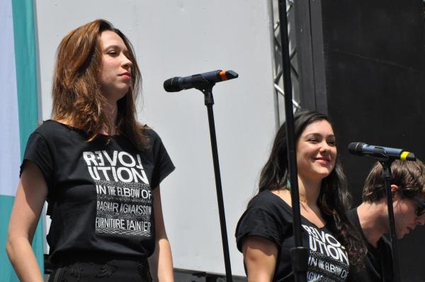 Danielle Kelsey and Karli DiNardo