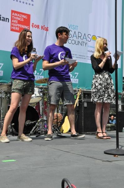 Samantha Bruce, Max Crumm and Christine Nagy