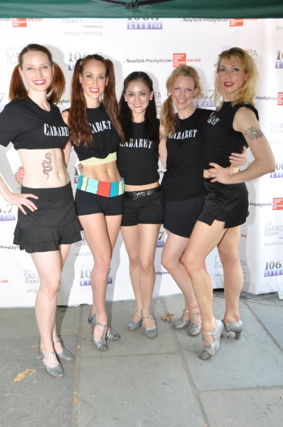 The ladies of Cabaret-Andrea Gross, Gayle Rankin, Kaleigh Cronin, Kelly Paredes and Kristin Olness