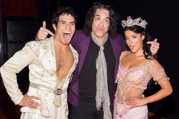 Photo Coverage: Paul Stanley of KISS Visits ALADDIN