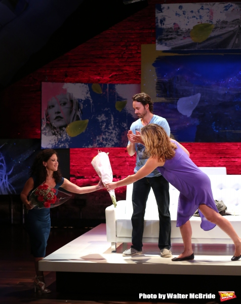 Photo Coverage: Julia Stiles and James Wirt Take First Bows in PHOENIX at Cherry Lane Theatre