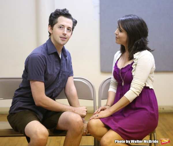 Photo Coverage: In Rehearsal with the Cast of RED EYE OF LOVE