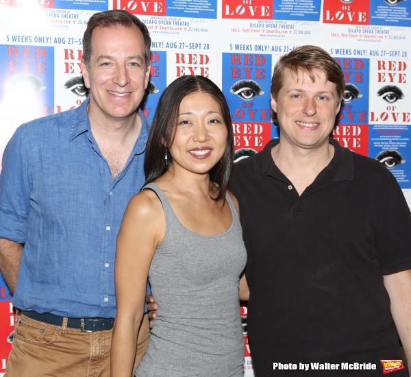 Director Ted Sperling, Co-Choreographer Lainie Sakakura and Composer Sam Davis