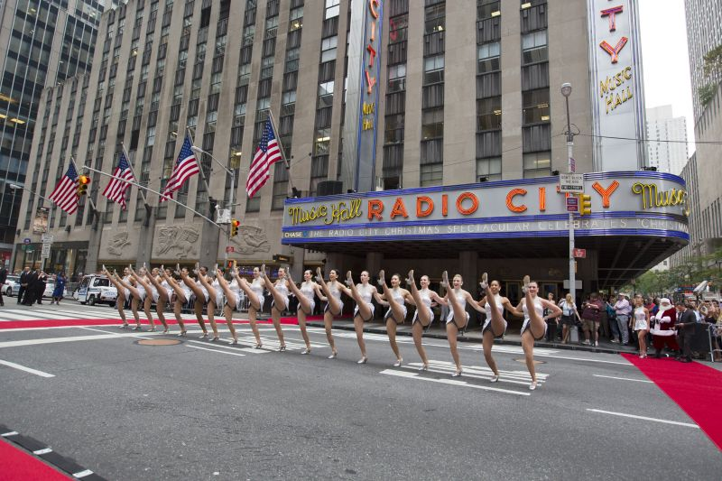 The Rockettes Celebrate Christmas in August Today to Preview the Radio City Christmas Spectacular