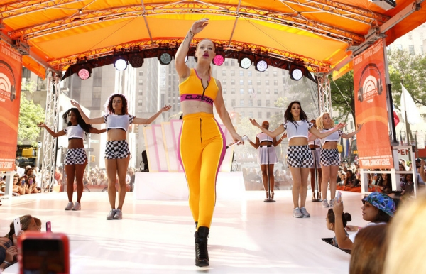 Photo Flash: Iggy Azalea Rocks the TODAY Show Plaza!