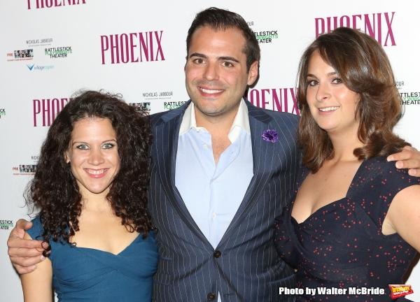 JenniferDelia, Nicholas Jabbour and Julie Pacino  Photo