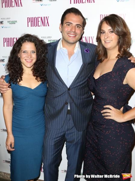 Jennifer Delia, Nicholas Jabbour and Julie Pacino Photo