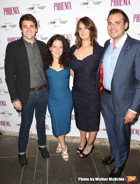Rian Patrick Durham, Jennifer Delia, Nicholas Jabbour and Julie Pacino