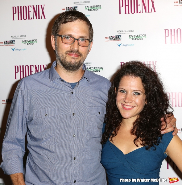 Playwright Scott Organ and Jennifer Delia