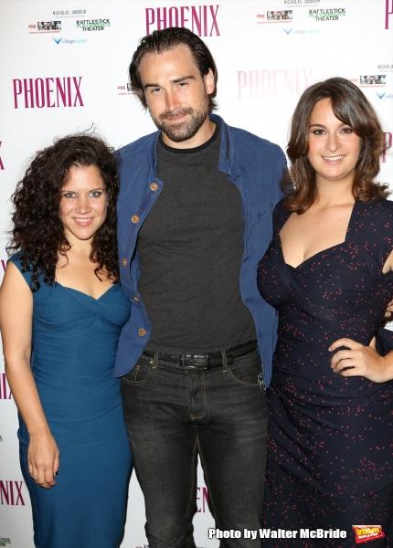 Director Jennifer Delia, Sean Stone and Julie Pacino  Photo