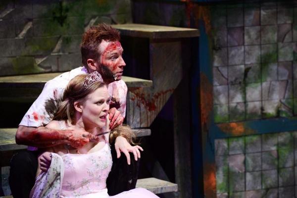 Erin Barlow and Geoff Button