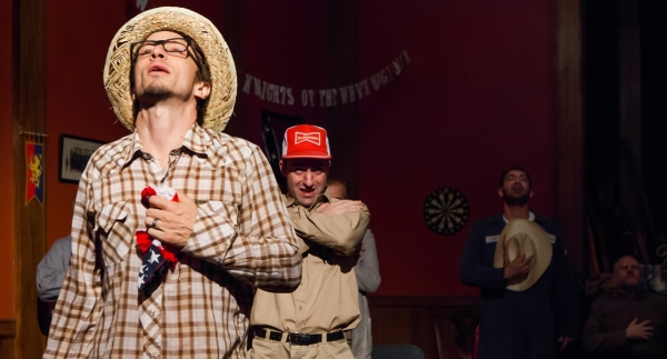 Photo Flash: Catch a Glimpse of ReGroup's THE LAST MEETING OF THE KNIGHTS OF THE WHITE MAGNOLIA Before Opening Night!