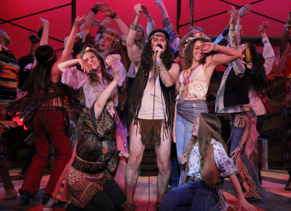 Photo Flash: First Look at HAIR at The Barn Theatre