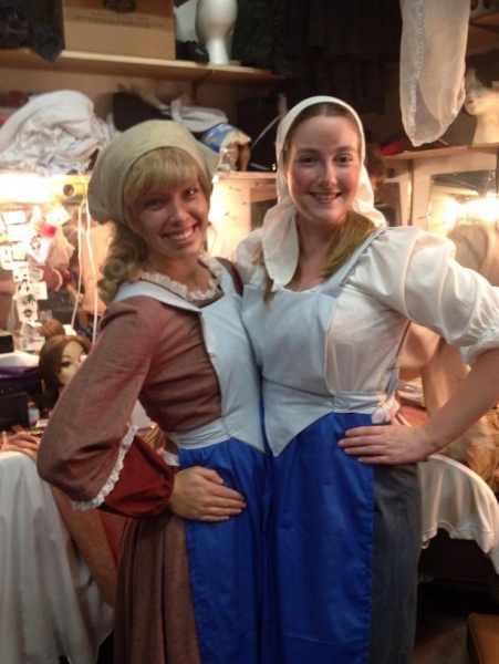 Photo Flash: Saturday Intermission Pics, August 9 - Part 2 - The Pirates of FINDING NEVERLAND Pose, Goodspeed's 'FIDDLER' and More