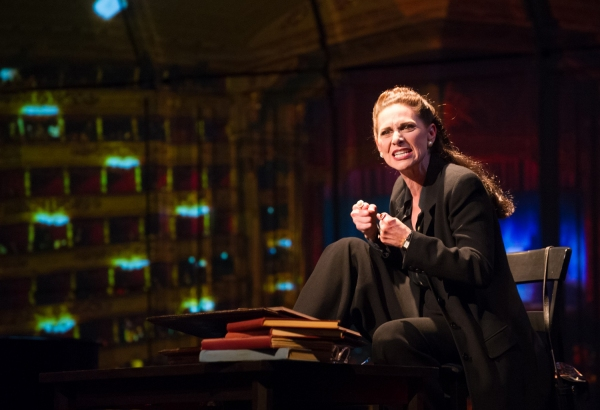 Photo Flash: First Look at Angela Iannone in Milwaukee Chamber Theatre's MASTER CLASS, Now Playing Through 8/24
