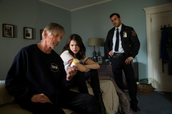 Scott Glenn, Margaret Qualley, Justin Theroux