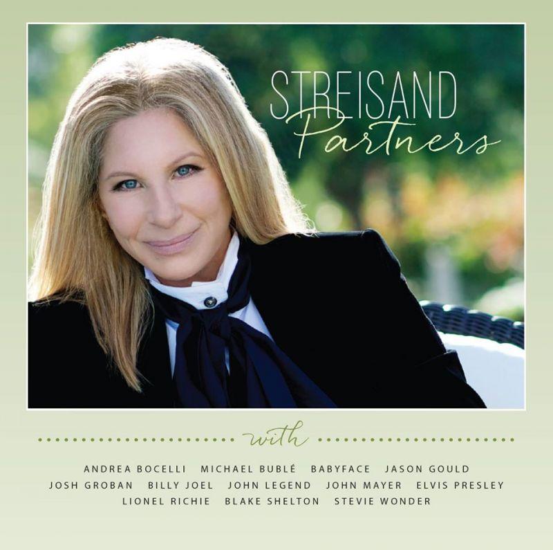 Cover Art, Full List of Duets Partners Unveiled for Barbra Streisand's New Album 'Partners'!