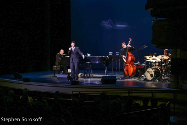Tedd Firth, Michael Feinstein,Sean Smith, Bryan Carter Photo