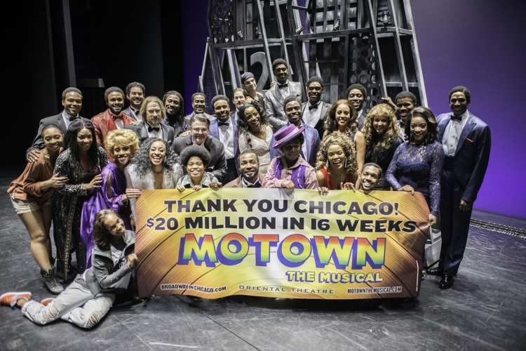 Photo Flash: MOTOWN National Tour Wraps Up Run in Chicago!