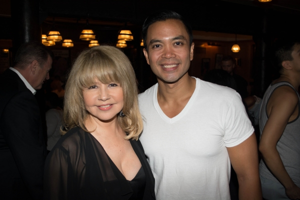 Photo Flash: Pia Zadora Visits HERE LIES LOVE!