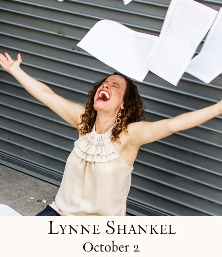 Lynne Shankel Presents New 54 Below Show, SHANKTUNES, 10/2