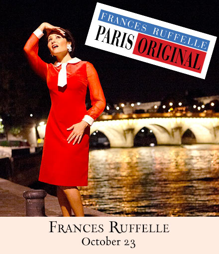 Frances Ruffelle Returns To 54 Below With PARIS ORIGINAL, 10/23