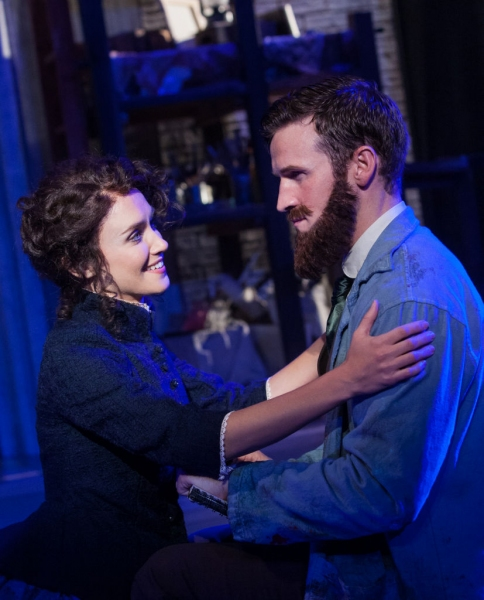 Photo Flash: Exclusive First Look at Claybourne Elder, Brynn O'Malley, Erin Driscoll and More in Signature's SUNDAY IN THE PARK WITH GEORGE