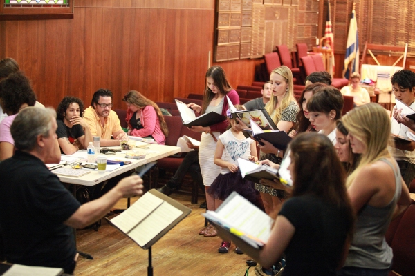 Photo Flash: In Rehearsal with New Musical SONG OF SOLOMON