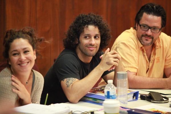 Valeria Cossu, Luis Salgado and Andrew Beall