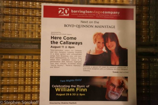 Photo Coverage: Ann Hampton Callaway and Liz Callaway Bring HERE COME THE CALLAWAYS to Barrington Stage Company