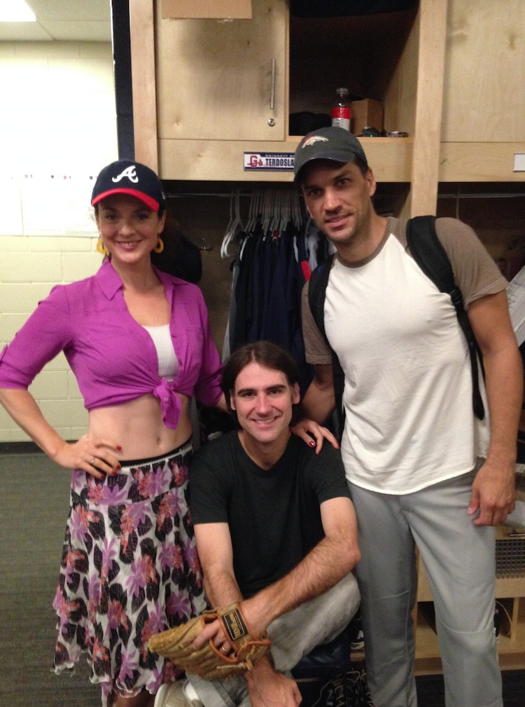 Photo Flash: Batter Up! Melissa Errico & Will Swenson Prep for BULL DURHAM