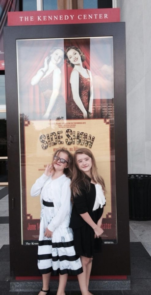 BWW Blog: Abigail Shapiro - SIDE SHOW at the Kennedy Center in DC