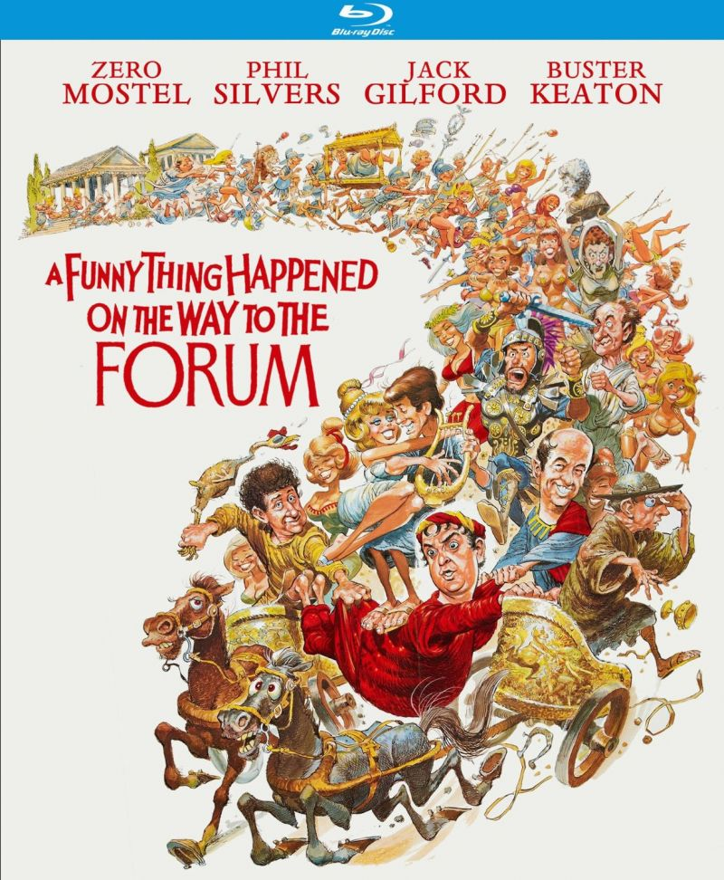 A FUNNY THING HAPPENED ON THE WAY TO THE FORUM Blu-ray Out 9/9