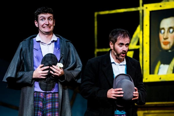 Photo Flash: First Look at Daniel Clarkson and Jefferson Turner in POTTED SHERLOCK
