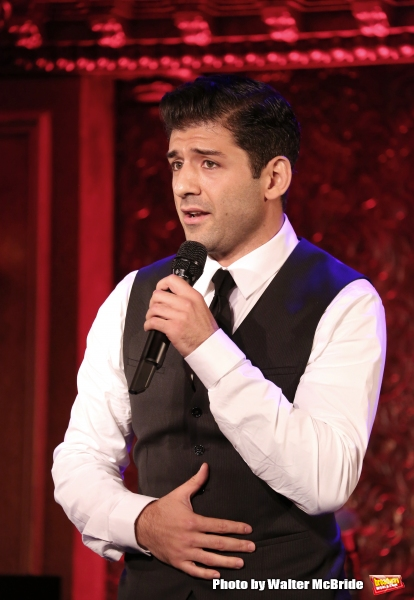 Photo Coverage: Tony Yazbeck Previews THE FLOOR ABOVE ME at 54 Below