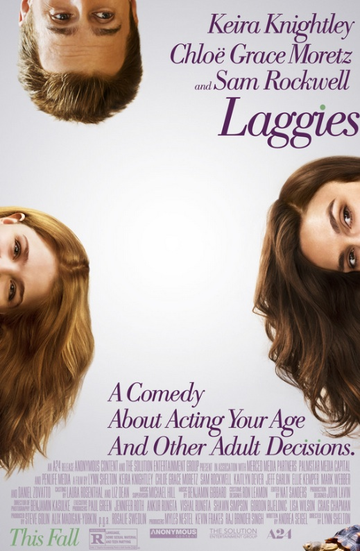 Moretz, Knightly & More Featured in New LAGGIES Poster Art