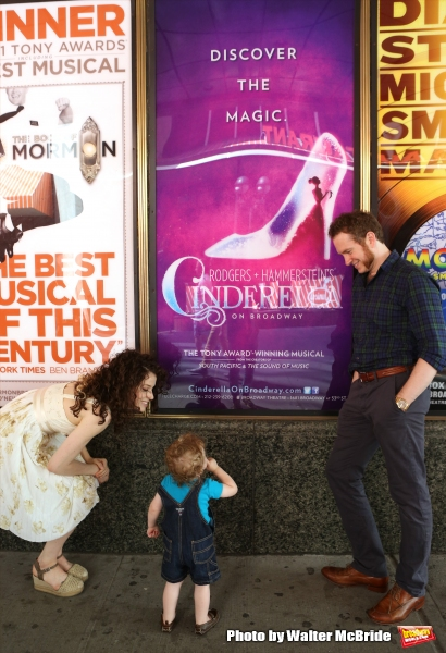 Exclusive Photo Coverage: A Stroll with Broadway Royalty Adam Monley & Paige Faure
