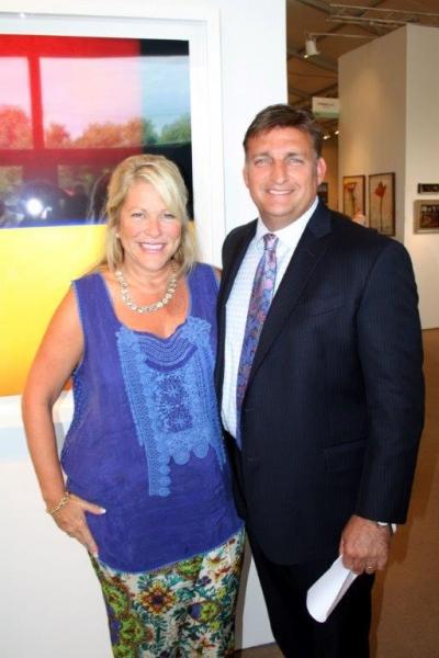 Marianne and Mark Epley, Mayor of Southampton Village