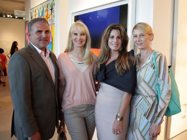 Nick Korniloff, Sara Herbert-Galloway, Pamela Cohen, Daniella Zahradnikova Photo