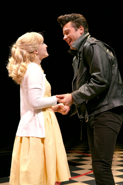 Ephie Aardema (Sandy) and Matthew Ragas (Danny)