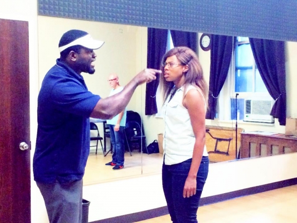 Photo Flash: In Rehearsal with Beautiful Soup's WHAT WAS LOST and SHADES OF BLUE in Rep