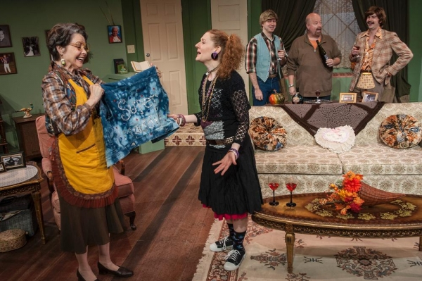 Mary Poindexter Williams as Ruthie, Melissa Macleod Herion as Maddie, Ryan Halsaver a Photo