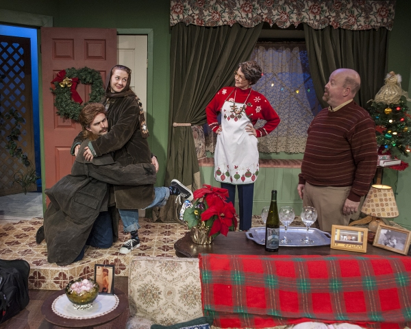 Magarin Hobson as Ricky, Melissa Macleod Herion as Maddie, Mary Poindexter Williams as Ruthie and Dale Young as Bill